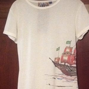 L.A.M.B Sure cute Tee . Size Large